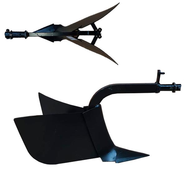 Arado surcador regulable