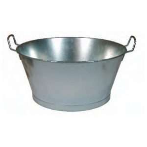 baño galvanizado