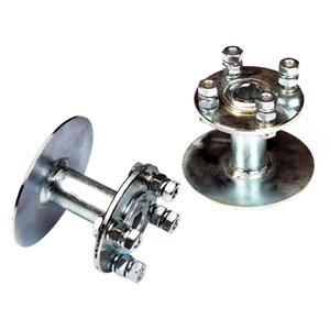 """Kit espaciadores neumáticos 4.00-8"""" Disco fijo"""