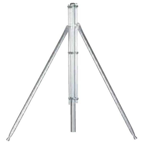 Ø 48 mm Eckspannpfosten. x 2,40 mt. für 2 mt mesh. Verzinkt