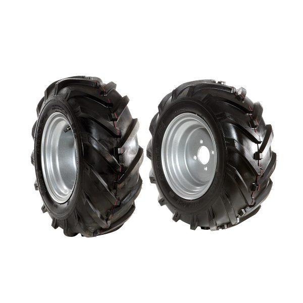 Par de ruedas neumáticas 16-6.50/8 - Disco fijo