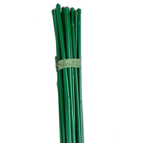 tutores de bambu plastificados