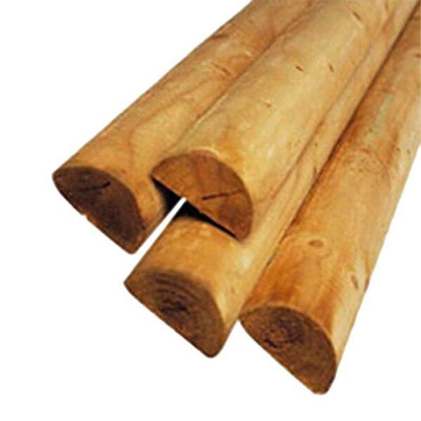tutores de madera partida