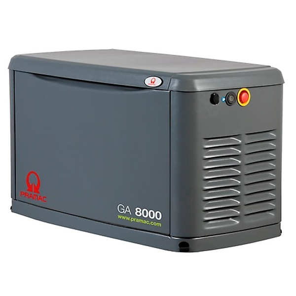 Grupo electrógeno a gas Pramac GA8000
