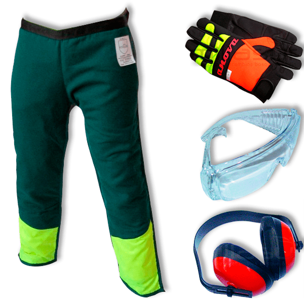 Chainsaw protection kit No. 1