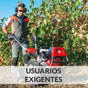 Motocultores - Usuarios Exigentes