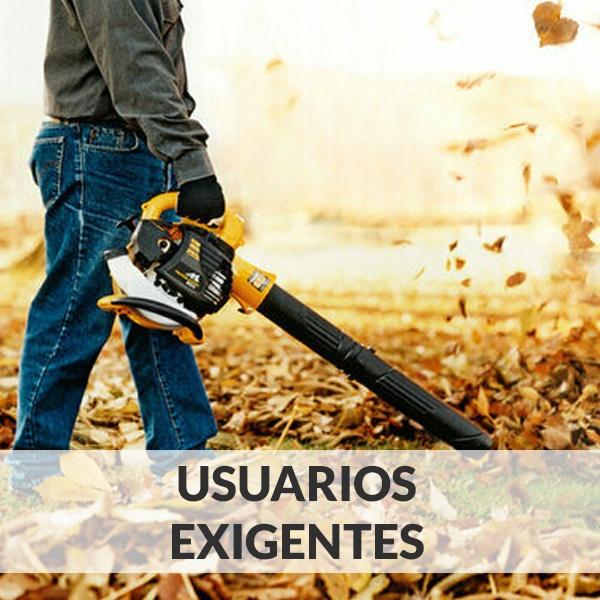 Sopladores de hojas - Usuarios Exigentes