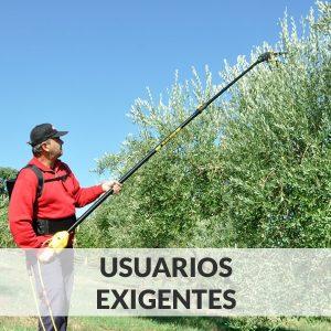 Vareadores de aceitunas - Usuarios Exigentes