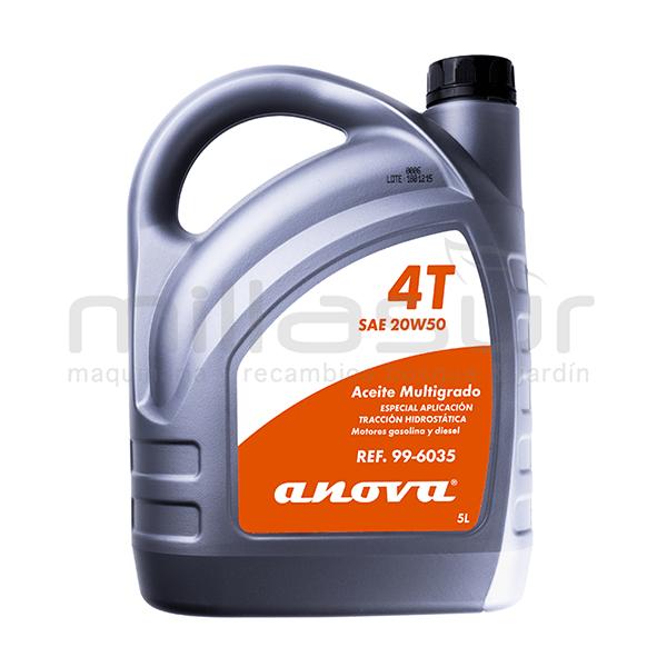 Aceite para tracciónes hidrostaticas SAE 20w50 4t - 5l