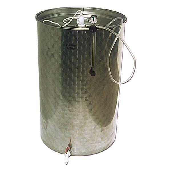 Depósitos para vino BJR-ORK inox. 304 siempre llenos con cierre neumático SuperEco Plus
