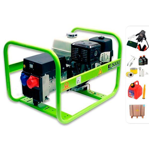 Generador eléctrico trifásico PRAMAC E5000