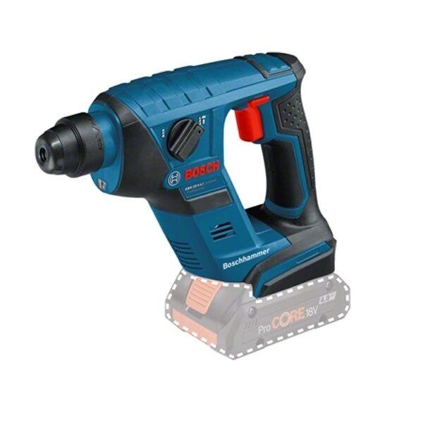 Schnurloser Bohrhammer mit SDS plus GBH 18 V-LI Compact Professional