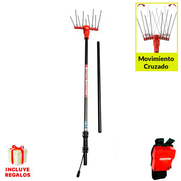 Vareadora de aceitunas Cifarelli Elivo SB100F1 Kit 2