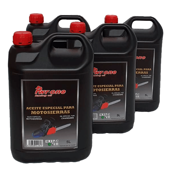 Chainsaw chain lubrication oils 4 pack