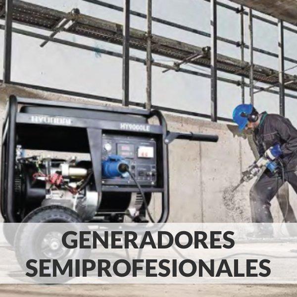 Generadores Eléctricos Semiprofesionales