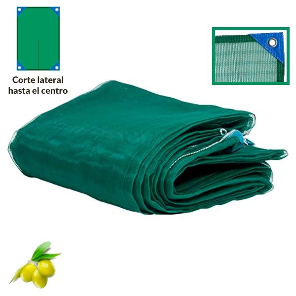 mantos reforzados para recoger aceitunas con corte