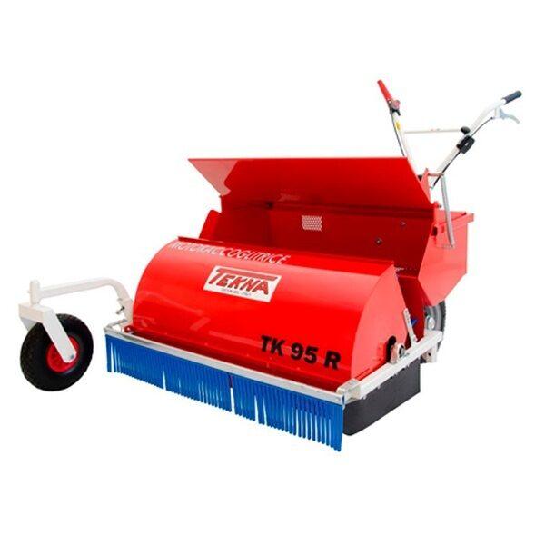 Recogedor de aceitunas y frutos secos Tekna TK 95R con motor Honda