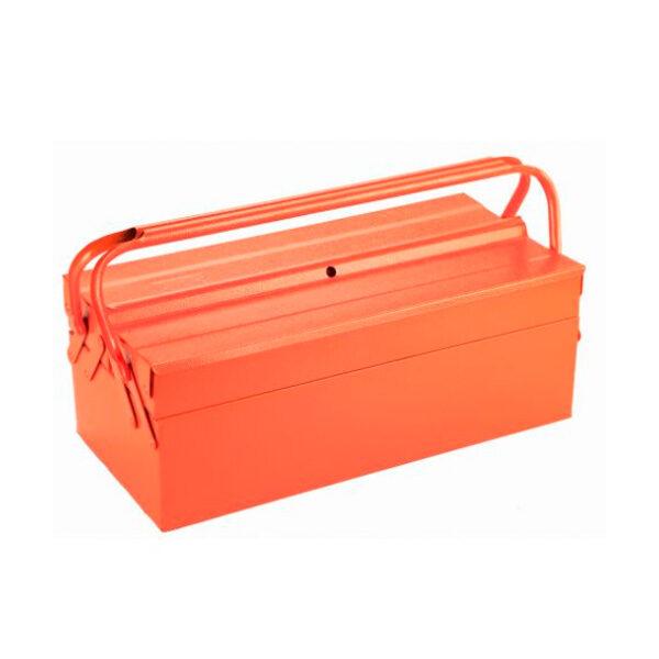 Caja metálica para herramientas de 3 bandejas HR