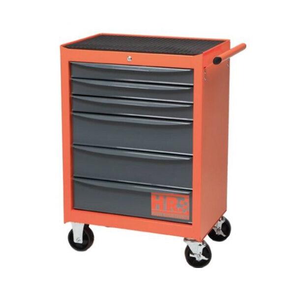 Chariot métal 6 tiroirs HR