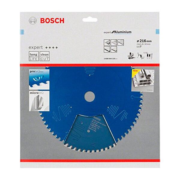 Discos de sierra circular Bosch Expert Aluminium 216x30x2 1.4x64D CL