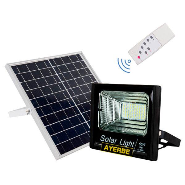 Foco solar 60W con mando a distancia Ayerbe AY-60W-SOLAR