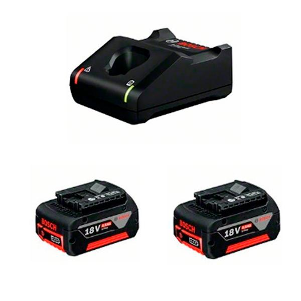 Juego básico Bosch 2 GBA 18V 4.0Ah + GAL 18V-40