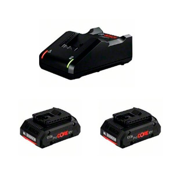 Juego básico Bosch 2 ProCORE18V 4.0Ah + GAL 18V-40