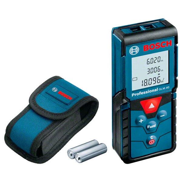 Medidor láser de distancias Bosch GLM 40