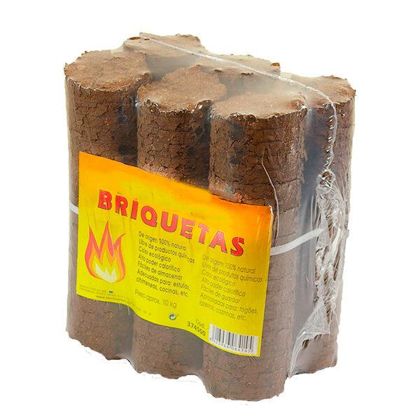 Paquete Briquetas serrín BJR-ORK