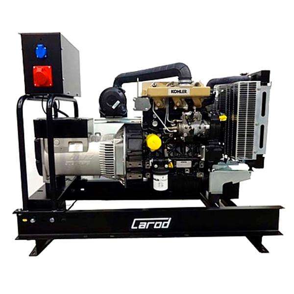 Single-phase Electric Generator Carod CMK-20L with Kohler KDI-1903M Diesel engine