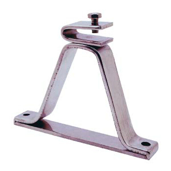 Soporte desplazado reforzado de acero inox para pletinas
