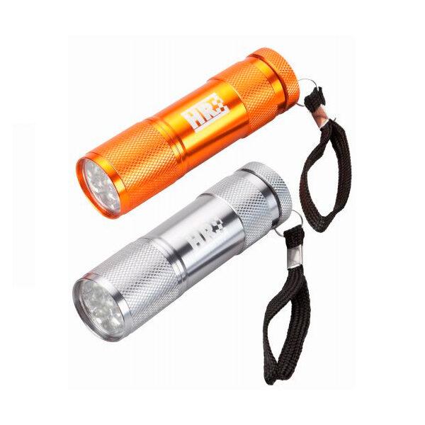 Linterna tubular de aluminio de bolsillo HR