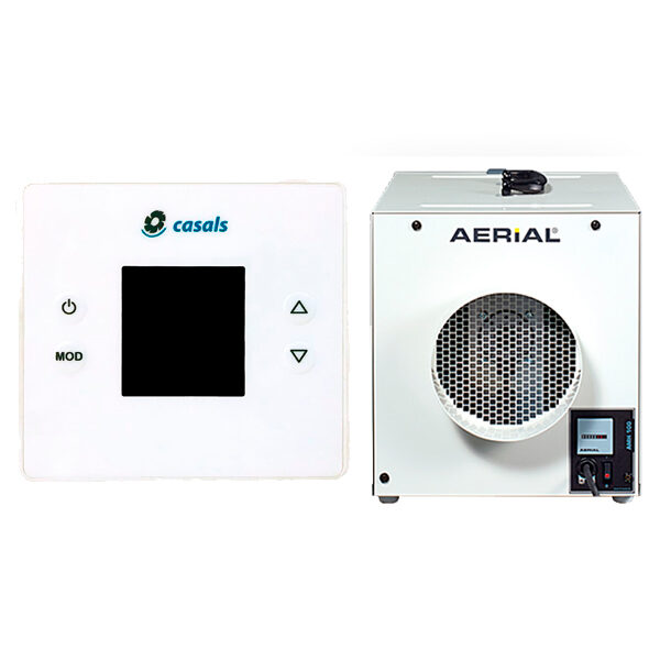 Purificadores de aire y sondas CO2