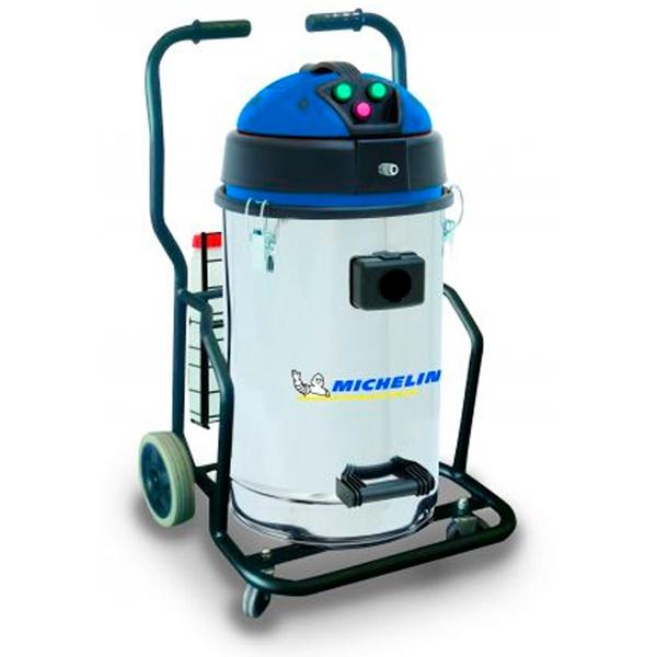 Michelin VCX70-BSEXINOX Staubsauger für Flüssigkeiten und Feststoffe