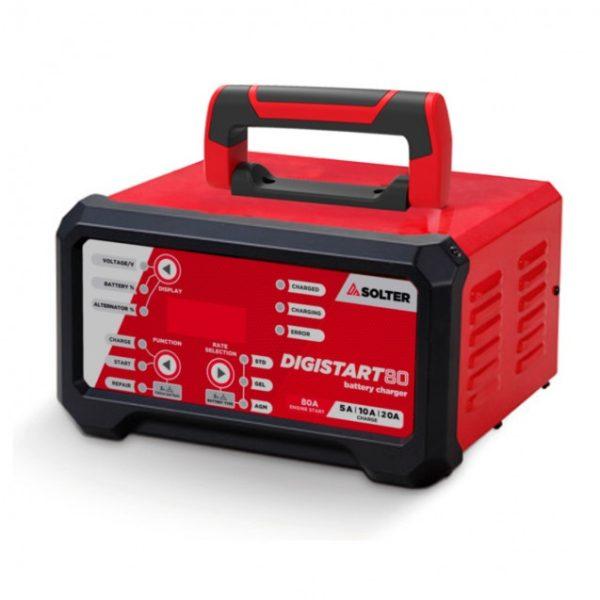 Cargador/Arrancador de baterías SOLTER DIGISTART 80