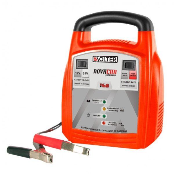 Cargador baterías SOLTER NOVACAR 16A