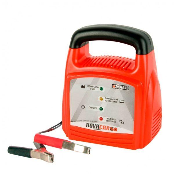 Cargador baterías SOLTER NOVACAR 6A