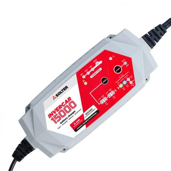 Cargador baterías SOLTER INVERCAR 15000