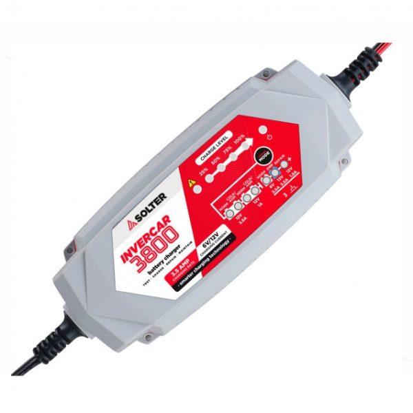 Cargador baterías SOLTER INVERCAR 3800
