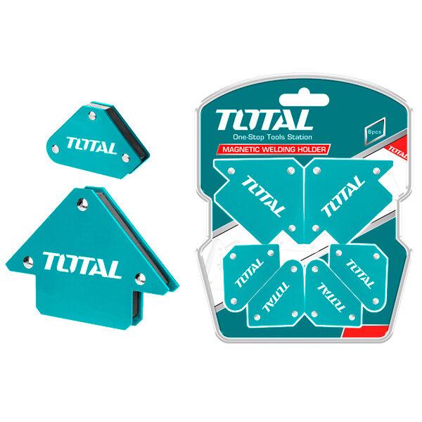 6 escuadras magnéticas para soldar Anova-Total TAMWH6002