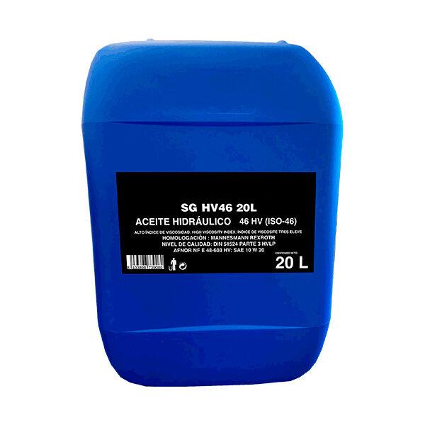 Aceite hidráulico BJR HV46 20L