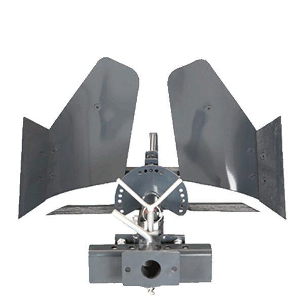 Arado de vertedera giratorio motocultor BJR AVG CTM