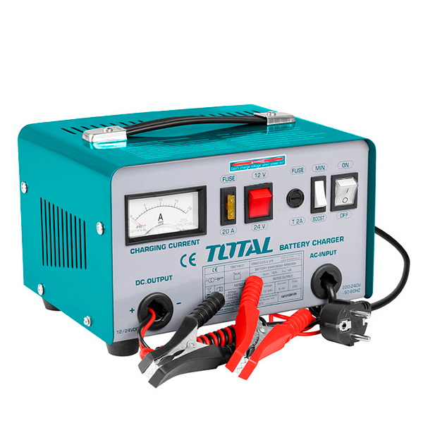 Cargador de baterías Total TBC1601