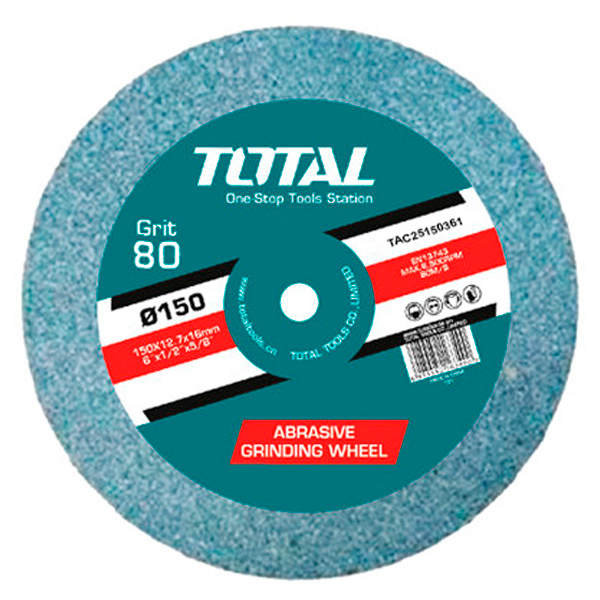 Disco piedra grano 36 para esmeriles eléctricos Anova-Total TAC25150361