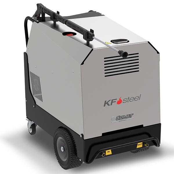Hidrolimpiadora eléctrica Comet de agua caliente KF Steel 21/200 7,3 kW - 10 HP