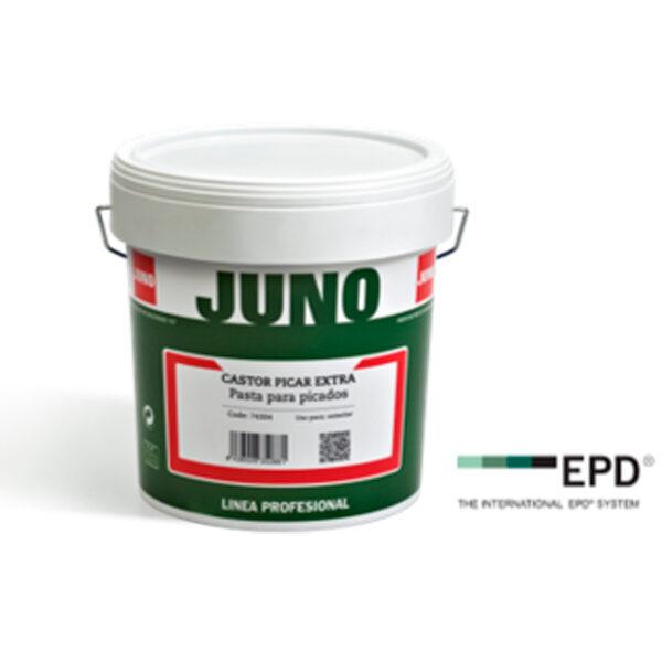 PINTURA DE INTERIORES JUNO CASTOR PICAR EXTRA