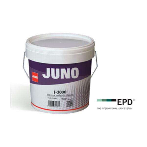 Pintura de fachada Juno J-3000 Satinada