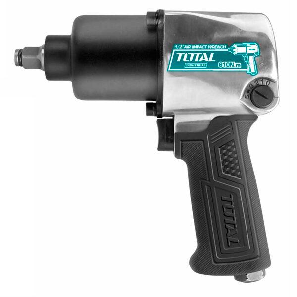 Pistola de impacto 1-2 para compresor Total TAT40122