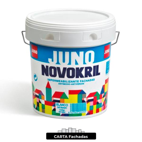 Pintura de fachada Juno NOVOKRIL Satinado