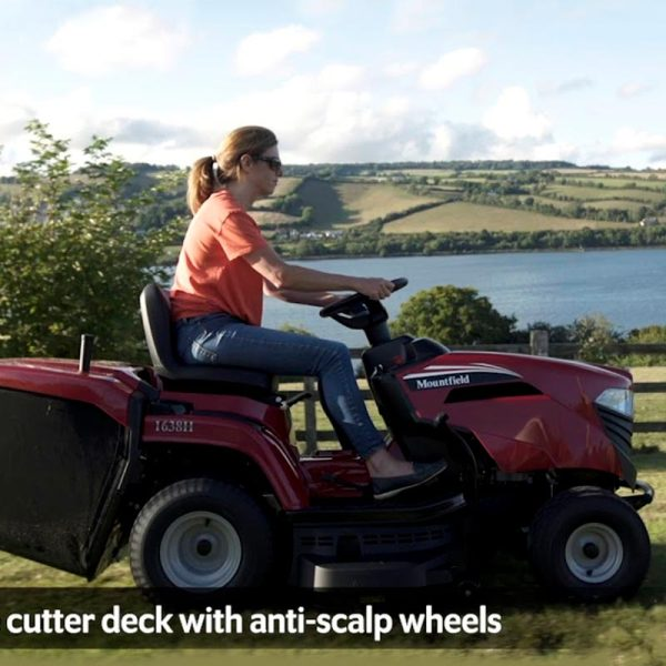 Tractor cortacésped Mountfield 1638 H